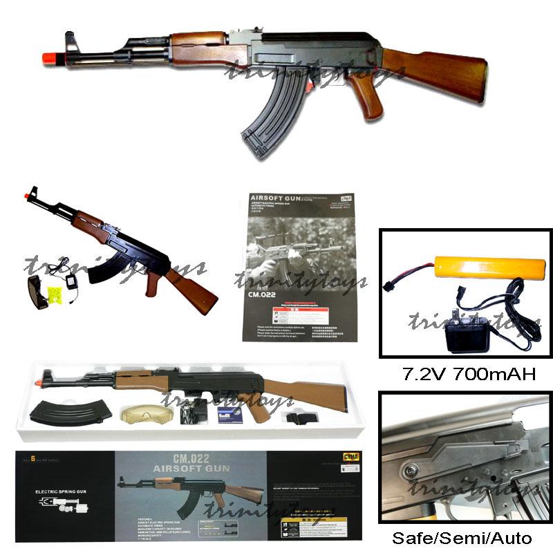 ak 47 bb gun. CM022 CYMA AK47 Airsoft Gun